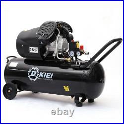 100 Litre Powerful Air Compressor 3.5HP 14.6CFM 100L for Workshop Garage Medical