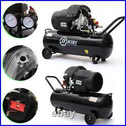 100L Litre Air Compressor 14.6CFM 3.5HP 8Bar Engine Gauge Portable 220V 115PSI