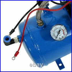 12V Air Compressor 150psi with 6 Liter Tank for Air Horn Truck RV Tire