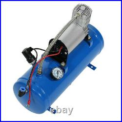 12V Air Compressor 6 Liter Tank Tyre Inflator Pump 150psi for Air Horn Truck NEW