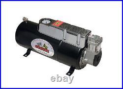12v DC Truck Pickup On Board Air Compressor & 3.5 Liter Tank For Air Horn