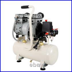 15 Litre Air Compressor Oil free Silent Portable 980W 116psi/8Bar 230V 43dB