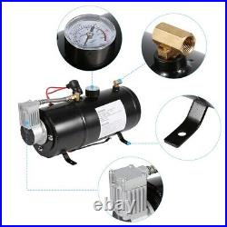150 PSI 12V Car Auto Air Compressor Vehicle Tyre Inflator 3 Liter with Air Tank