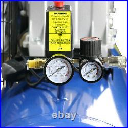 150L Ltr Litre Air Compressor Twin Cylinder Belt Drive 3HP 145PSI 10Bar
