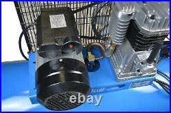 200L Ltr Litre Air Compressor 8 CFM 3HP 8 Bar Engine Gauge Portable 180psi 220v