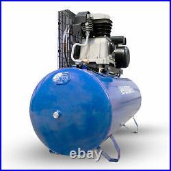 200L Ltr Litre Air Compressor Belt Drive 3hp 145psi 10bar 14cfm Compressor Kit