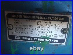 240v Clarke Air Industrial 110L 110 Litre Tank Tyre Tool 2hp Air Compressor