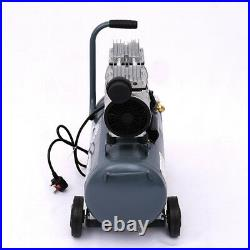 25-100L Litre Air Compressor Tool 8BAR 220V 9.6CFM Workshop Equipment With Wheel