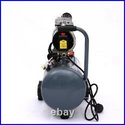 25 Litres Air Tools Gal Compressor Mobile Garage 8 CFM Ultra Quiet Oil-Free Grey