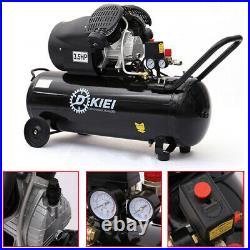3.5HP 100 Litre Air Compressor Garage Industrial Air Tools -14.6CFM, 100L Engine