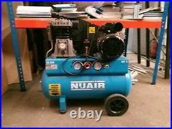 50 Litre Air Compressor Nuair B2800B 230v 355ltr/min NEW