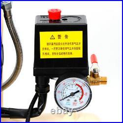 8 Litre Oil-free Air Compressor Silent Compressed Piston Compressor Whisper 550W