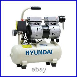 8L Ltr Litre Air Compressor Silent Portable Oil Free 550w 0.75HP 100PSI 7BAR