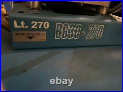 ABAC B630 270 LITRE air compressor 3 PHASE