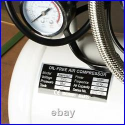 AFLATEK Silent compressor 10 Liter oil free Low noise 66dB Clinic Air compressor