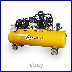 Aflatek Air compressor 200 Litre 670l/Min 23.6CFM 5.5kw 8bar 400V 7.5HP 3HP