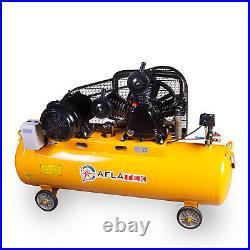 Aflatek PRO Air compressor 200 Litre 1070l/Min 37.7CFM 5.5kw 12.5bar 400V HP