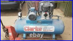 Air Compressor 200 litre 5.5hp Clarke 22cfm