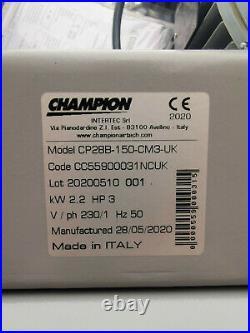 Air Compressor 3hp 150l Litre 10 Bar