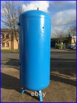 Air receiver. Vertical tank for air compressor 900 litre 10 bar European CE Mark