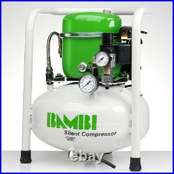 Bambi BB15V Compressor Silent Air Budget Range (15 Litres, 0.5 HP)