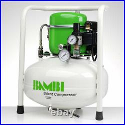 Bambi BB24V Compressor Silent Air Budget Range (24 Litres, 0.5 HP)