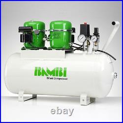 Bambi BB50D Compressor Silent Air Budget Range (50 Litres, 1 HP)