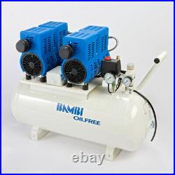 Bambi PT50 Compressor Ultra Low Noise Oil Free (50 Litres, 1.5 HP)