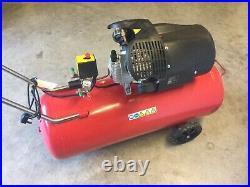 Clarke Raider 15/1000 100 Litre V-twin Air Compressor (2.2kw / 3hp)