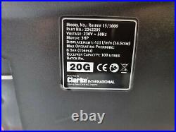 Clarke Raider 15/1000 3hp 100 Litre Air Compressor Receiver BARELY USED RRP £400