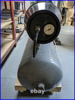 Hydrovane 50 litre compressor with air hoses & accessories