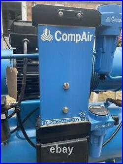 Hydrovane HV02(overhauled), 75 Litres, 3hp Single Phase, 2800 Rpm Air compressor