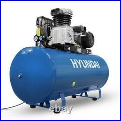 Hyundai HY3200S Air Compressor 14cfm 200-Litre Belt Drive 240v