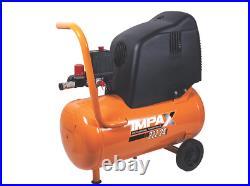 Impax 24ltr Litre Electric Air Compressor, New 230v