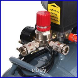 Industrial 80L Litre Air Compressor Horizontal Tank Oilless 60dB 12CFM, 4.5HP