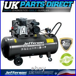 Jefferson 200 Litre 3HP Compressor 2 YEAR WARRANTY