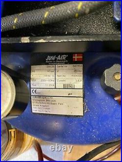 Jun-Air Compressor 2x4 25 Litres (Twin Motors)