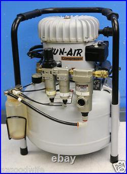 Jun-Air Model 6 6-25 25 Liter 6.6 Gallon Compressor