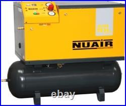 Nuair Air Compressor Silent Quiet 100 Litre Compessed Air Tank S-28ft541nua Cfm