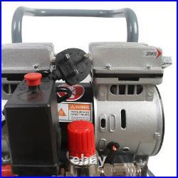Portable Oil-free Air Compressor 50Litre 2.5HP 8CFM 60db Silent Inflator Trolley