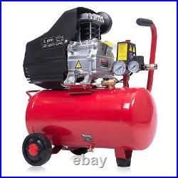 Powerful 24L Liter Air Compressor 9.6CFM 2.5HP 116PSI 8 Bar Portable