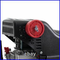 SGS 24 Litre Direct Drive Air Compressor With Hose Reel 9.5CFM, 2.5HP, 24L