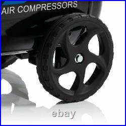 SGS 24 Litre Direct Drive Air Compressor With Integrated Hose Reel & 5 Piece Too