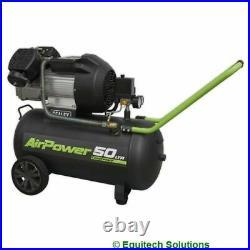 Sealey Tools SAC5030VE Air Compressor 50 Litre 50L 3HP 230V V Twin Direct Drive