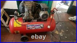 Sealey air compressor 100 litres