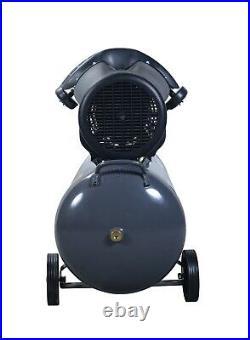 SwitZer Air Compressor 100L Litre LTR 3HP 8 BAR 230V 14CFM + Wheel AC005 Grey
