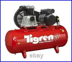 Tigren 04385 200 Litre Electric Air Compressor 3hp 2.2kw Motor 230volt