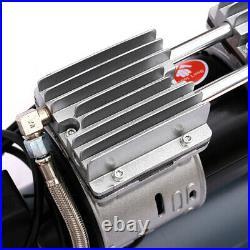 UK Ultra Quiet & Oil-Free 25 Litre 2.5HP 8CFM Steel Tank Air Compressor 60dB 25L