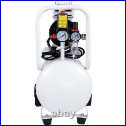 VEVOR 30L Litre Air Compressor Silent 850w 1.1HP 115PSI 8BAR Oil-Free Portable