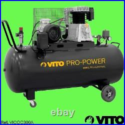 VITO PRO 300 Liter Druckluft KOMPRESSOR 10bar 400V 4PS 400l/min Riemenkompressor